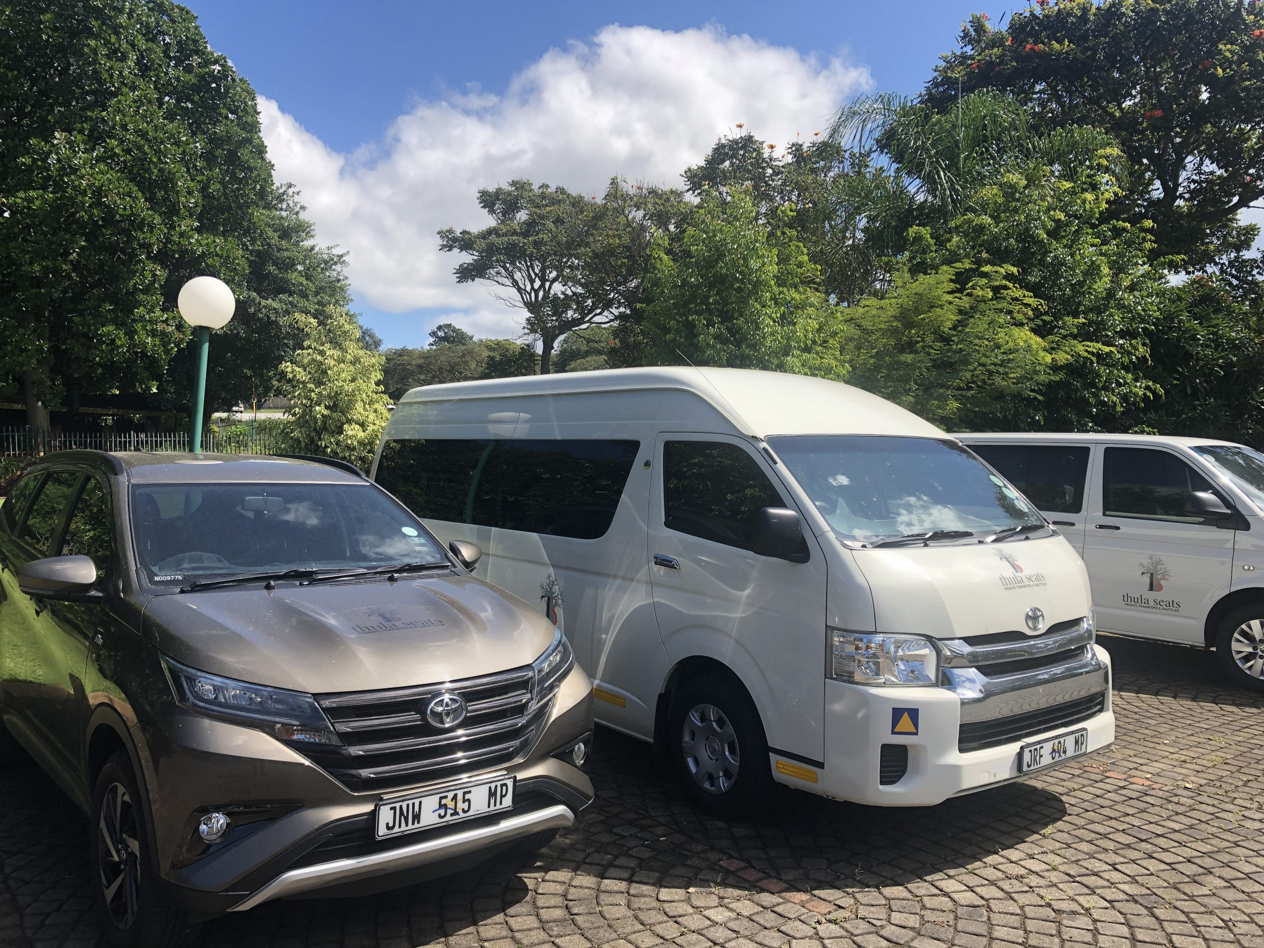 Thula Seats airport transfer vehicles